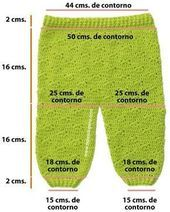 Crochet or crochet pants 0 to 3 months – baby clothes - Babykleidung Baby Knitting Patterns, Baby Dress Patterns, Knitting For Kids, Crochet For Kids, Free Knitting, Two Needle Socks, Baby Pants Pattern, Crochet Baby Pants, Baby Dungarees