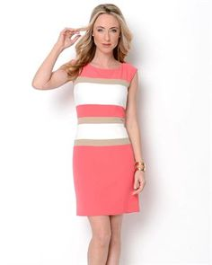 Studio One Striped Dress