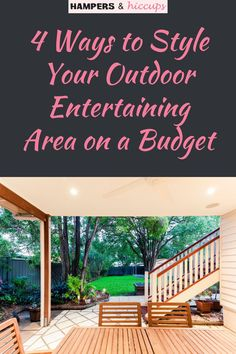 Here are a few great ideas for how to up your outdoor entertaining decor and comfort. These tips will help you save money while giving you a great looking patio, deck or yard space for your family and get-togethers. Inexpensive Home Decor, Cheap Home Decor, Old Wicker, Organizing, Organization, How To Get Warm, Outdoor Living Areas, Hampers, Dream Decor