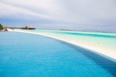 Infinity Pool at Anantara Dhigu Maldives by irol.trasmonte, via Flickr