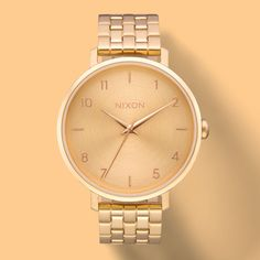 Our unique Nixon women's watches range from dainty and modern to contemporary and classic. Shop online today for your favorite women's Nixon watch. Casual Watches, Women's Watches, Daily Fashion, Gold Watch, Scarves, Gloves, Accessories, Sunglasses, Fashion Styles