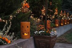 Halloween and Fall Decorations for the Backyard