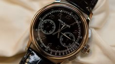 """Let's just call it like it is: the 5370 is the best watch Patek Philippe has produced in years. Maybe the best watch since the 5970, or even before. The expression I kept hearing from people I know and respect at Baselworld was """"Pure Patek,""""and I really agree. This is the watch that reminds us that they do care about their past, and about what people want, not just about making sales. The case, the dial, the crown, the caliber – everything on the new 5370 is just plain right. Let's have a look at what it's like in the metal."""