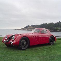 Alfa-Romeo 8C 2900B LeMans Berlinetta 1938'