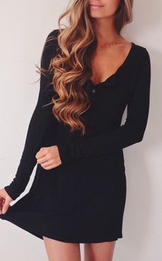 Love this dress. Just throw on and go. Perfect for the days you just don't want to fuss.... well to much.. lol