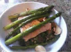Chicken & Asparagus - This is a quick chicken recipe that's perfect for a midweek supper, the crispy chicken works perfectly with tomatoes and asparagus for a great meal.