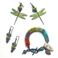 Flower Cap Czech Glass Jewelry - Toni McCarthy, Beads & Threads   Touchstone Gallery