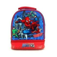 Spiderman Lunch Bag With Shoulder Strap 32