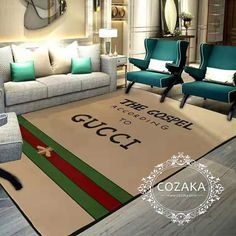 Funky Decor, Carpet Design, Gucci, Contemporary, Rugs, Bedroom, Home Decor, Houses, Farmhouse Rugs