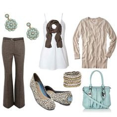 Chocolate Mint, created by #jayneann1809 on #polyvore. #fashion #style #Oasis #TOMS