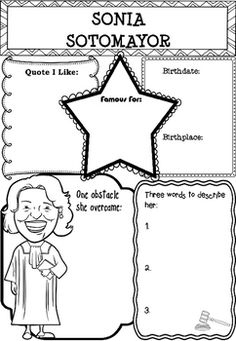 sonia sotomayor coloring page sonia sotomayor coloring page holy crap i 39 m going to