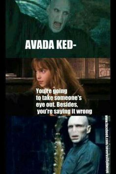 Harry potter - you're saying it wrong