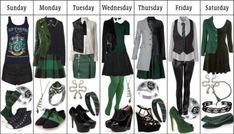 Slytherin Wardrobe