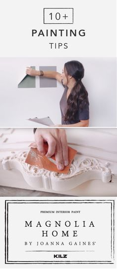 Make your next DIY home makeover project easier with this collection of painting tips from Joanna Gaines. Use the Magnolia Home by Joanna Gaines™ paint collection Peel and Stick Color Samples to test color palettes in multiple rooms throughout your home before you ever start painting. Click here for more easy tips.