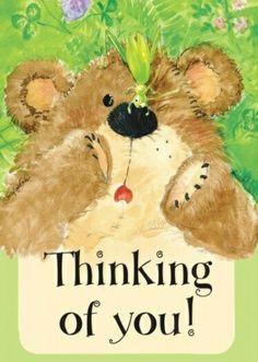 Suzy's Zoo thinking of you Happy Birthday Images, Happy Birthday Greetings, Birthday Wishes, Hugs And Kisses Quotes, Hug Quotes, Thinking Of You Quotes, Thinking Of You Today, Teddy Bear Hug, Tatty Teddy