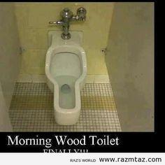 FINALLY !!! A MORNING TOILET FOR MEN.... - http://www.razmtaz.com/finally-a-morning-toilet-for-men/