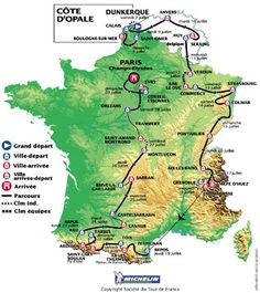 Bildresultat för tour de france 2001 race map