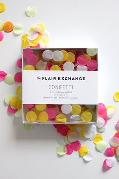 The Flair Exchange® - Handcut Confetti - Boardwalk