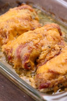 4-Ingredient Bacon Ranch Chicken Bake