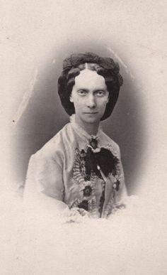 Tsaritsa Maria Alexandrovna of Russia, neé Princess Marie of Hesse. 1860s