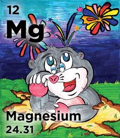 Mg - Magnesium salts have medicinal uses; the hydroxide is used in antacids (milk of magnesia), the sulfate is in Epsom salts & the citrate is a laxative Salts, Chemistry, Periodic Table, Disney Characters, Fictional Characters, Milk, Board, Periodic Table Chart