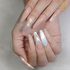 Examples of Beautiful Long Nails to Inspire You ❤️ Long Coffin Nails picture 3 ❤️ These days long nails are not anything special, and everyone can try wearing them out. What is more, there are trends to follow, and we happen to know all about the freshest ideas when it comes to your nails. https://naildesignsjournal.com/long-nails-ideas/ #nails #nailart #naildesign #longnails