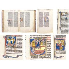 48: THREE-VOLUME BIBLE, IN LATIN, WITH THE PROLOGUES ATTRIBUTED TO SAINT JEROME, ILLUMINATED MANUSCRIPT ON VELLUM