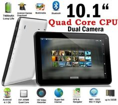 Weize 10.1'' Google Android 4.2 Tablet MID Pc, Allwinner Quad Core A31 CPU up to 1.5ghz, 1gb Ram, 8gb Hdd, Multi-touch...