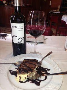 Mousse de chocolate con #Cepa21 Chocolate Mousse with #Cepa21