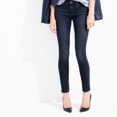 JCrew Toothpick Jean JCrew Toothpick Jean from JCrew's golden age!  Perfectly worn in but with no rips or pulls. Please see photos for signs of wear including distressing along the seams. 98% cotton 2% spandex. 29 in inseam. J. Crew Jeans Skinny