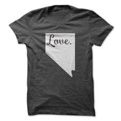 Love Nevada T Shirts, Hoodies. Get it now ==► https://www.sunfrog.com/States/Love-Nevada-62509430-Guys.html?57074 $19