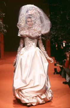 Les Mariées: 10 of Christian Lacroix's Most Beautiful Couture Brides - Gallery - Style.com