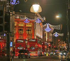 London, England -- Oxford Circus at Christmas