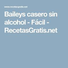 Baileys casero sin alcohol - Fácil - RecetasGratis.net