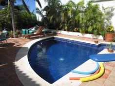 Casa Cupula gay resort (view of the clothing optional pool) #gaytravel
