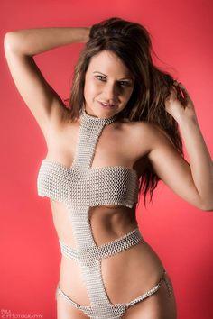 Charlie Kristine modeling LeeLoo Dallas by graywolfsmaille.deviantart.com on @DeviantArt