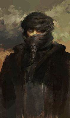 tohaheavyindustries: Muad'dib portrait by AjTron Dune Frank Herbert, Game Design, Dune Art, Post Apocalyptic Fashion, Fanart, Science Fiction Art, Tecno, Sci Fi Fantasy, Sci Fi Art