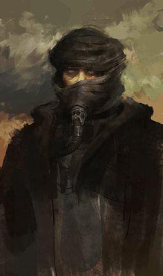 Muad'dib portrait by AjTron