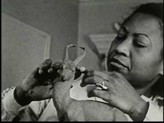 Watch Augusta Savage at work in her studio. Absolutely moving to watch this Harlem Renaissance artist at work.