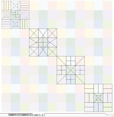 EQ8 Lessons with Yvonne-Create Your Quilt Stencil to Match Your Block   The Electric Quilt Blog Electric Quilt, Stencils, Create Yourself, Quilts, Blog, Quilt Sets, Blogging, Templates, Log Cabin Quilts