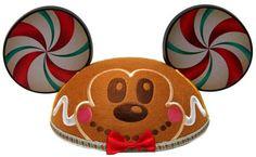 gingerbread mickey ears - Google Search
