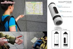Maptor, proiettore portatile di mappe by yankodesign.com ...