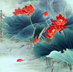 Beautiful Chinese watercolors. Discussion on LiveInternet - Russian Service Online Diaries