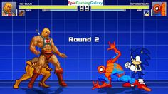 Sonic The Hedgehog And Spider-Man VS He-Man And Vixen In A MUGEN Match / Battle / Fight This video showcases Gameplay of Vixen The Superheroine And He-Man From The He-Man and the Masters of the Universe Series VS Sonic The Hedgehog And Spider-Man The Superhero In A MUGEN Match / Battle / Fight