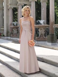 Flat Pink Floor Length Sexy Young Ruffles Mother of Bride Dresses
