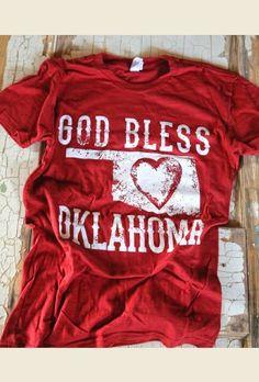 GOD BleSS OkLAhoMA Unisex tee I NEED this!