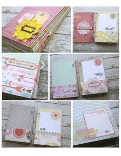 planner . organizer . mini album | the details