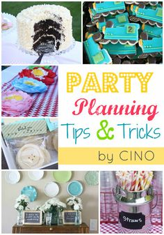 craftiness is not optional: party planning tips