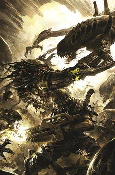 #Alien #Predator
