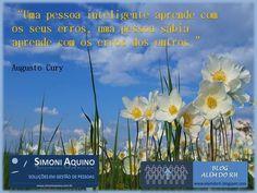 Pessoa inteligente x pessoa sábia, por Augusto Cury